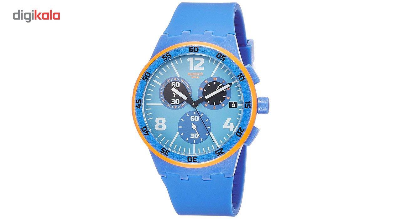 ساعت مچی عقربه ای مردانه سواچ مدل SUSN413 -  - 1