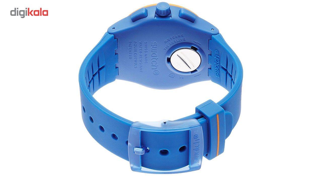 ساعت مچی عقربه ای مردانه سواچ مدل SUSN413 -  - 4