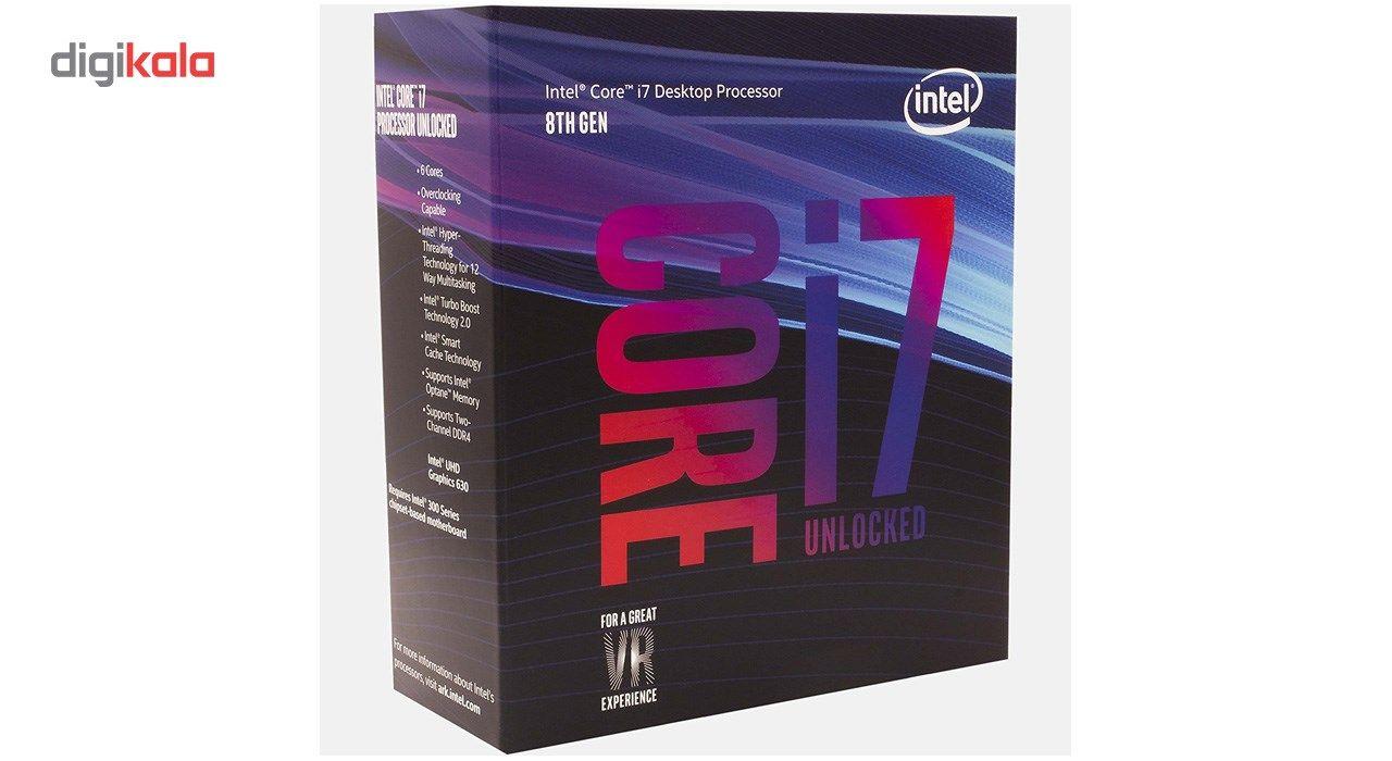 پردازنده مرکزی اینتل سری Coffee Lake مدل Core i7-8700K main 1 2