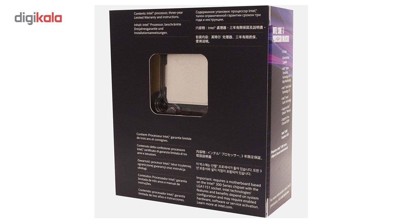 پردازنده مرکزی اینتل سری Coffee Lake مدل Core i7-8700K main 1 5