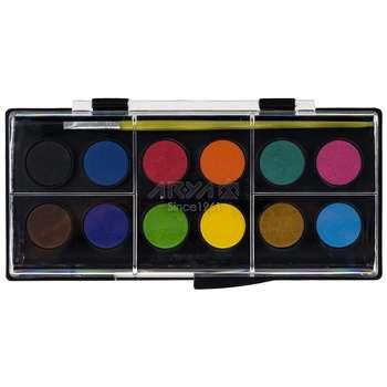 آبرنگ 12 رنگ آریا کد 1-5008