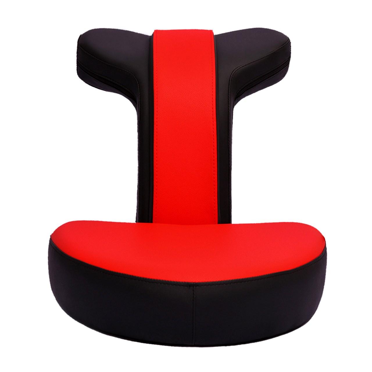 صندلی گیمینگ رادسیستم مدل قرمز G010 چرمی