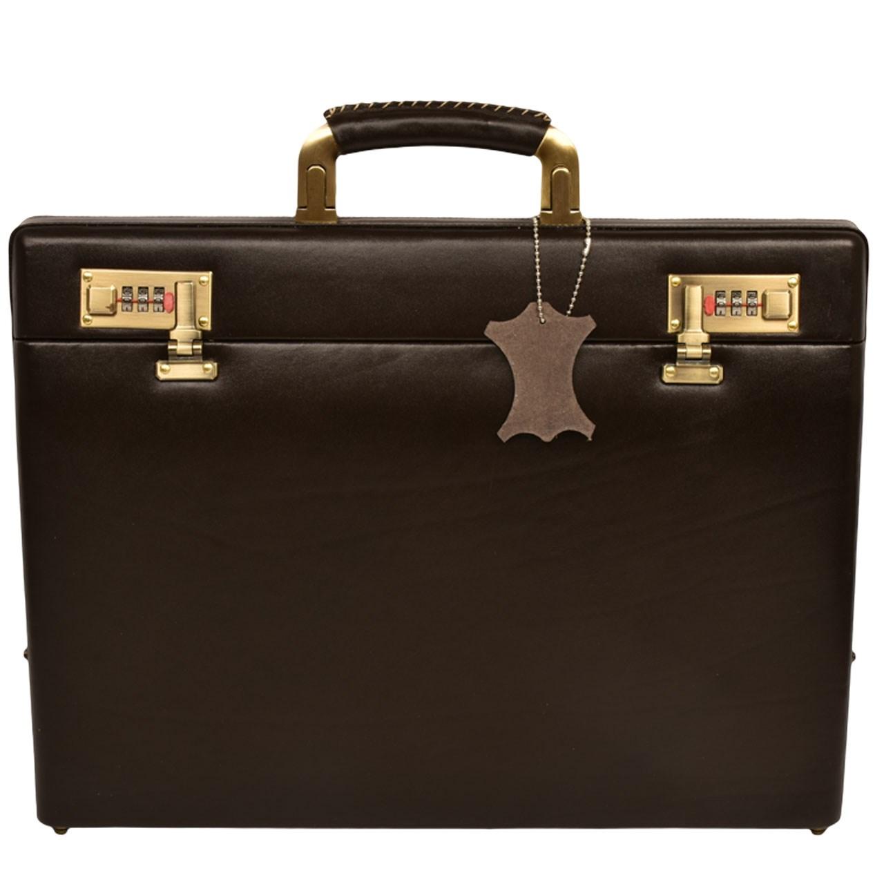 کیف اداری چرم طبیعی کهن چرم مدل L72-15