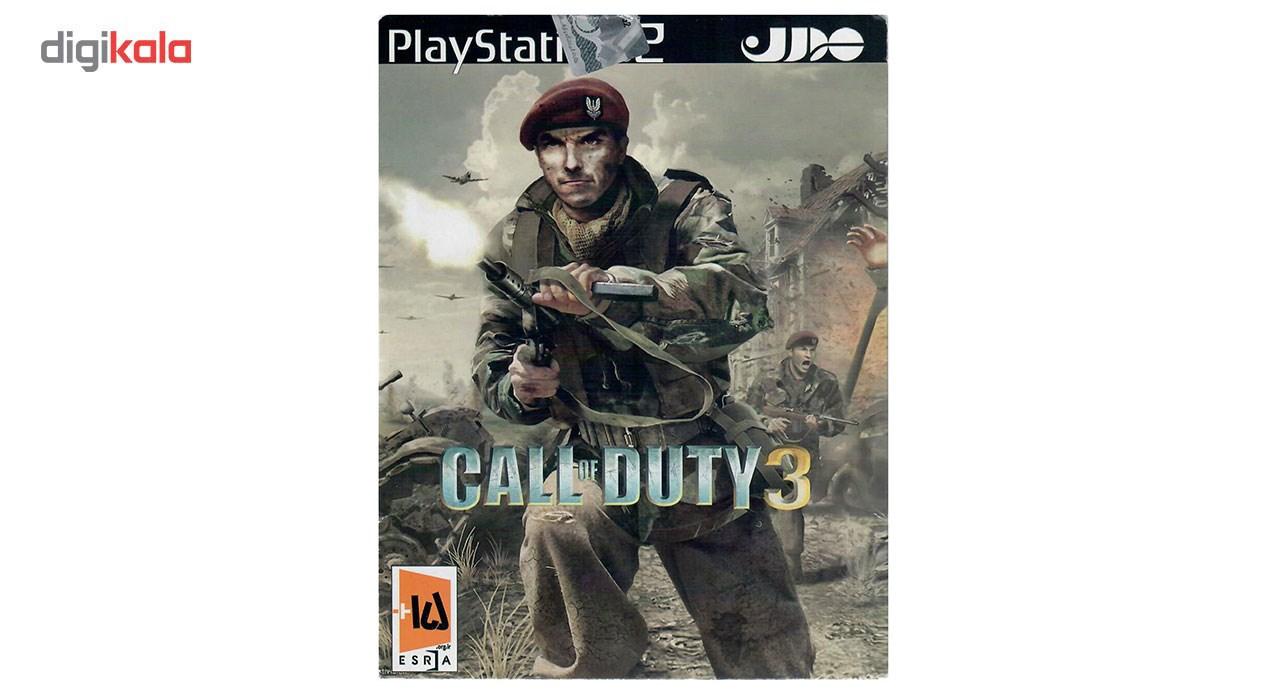 بازی Call of Duty 3 مخصوص PS2 main 1 1