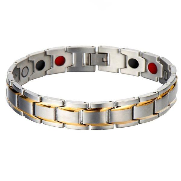 دستبند مغناطیسی سلامت اصل مدل Silver