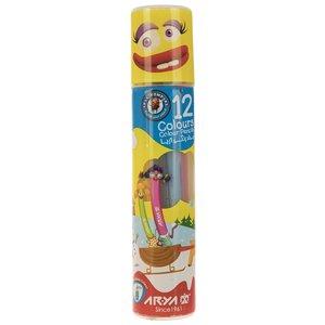 مداد رنگی 12 رنگ آریا مدل 3051