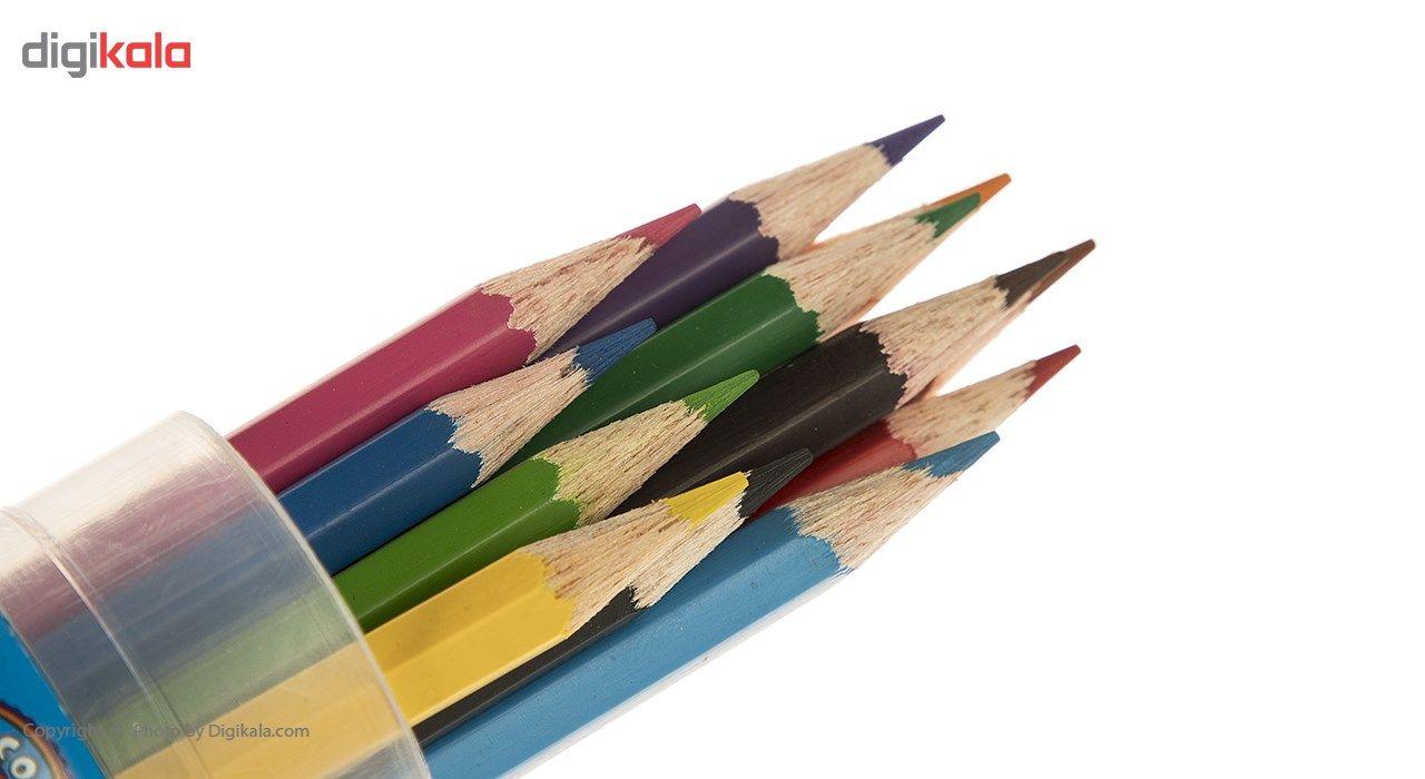 مداد رنگی 12 رنگ آریا مدل 3051 main 1 2