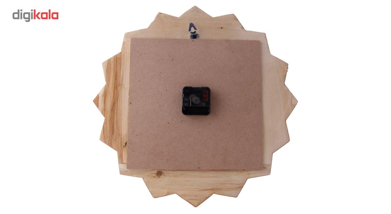 خرید                      ساعت دیواری خاتم کاری و میناکاری مارکت لند کد Mkh164