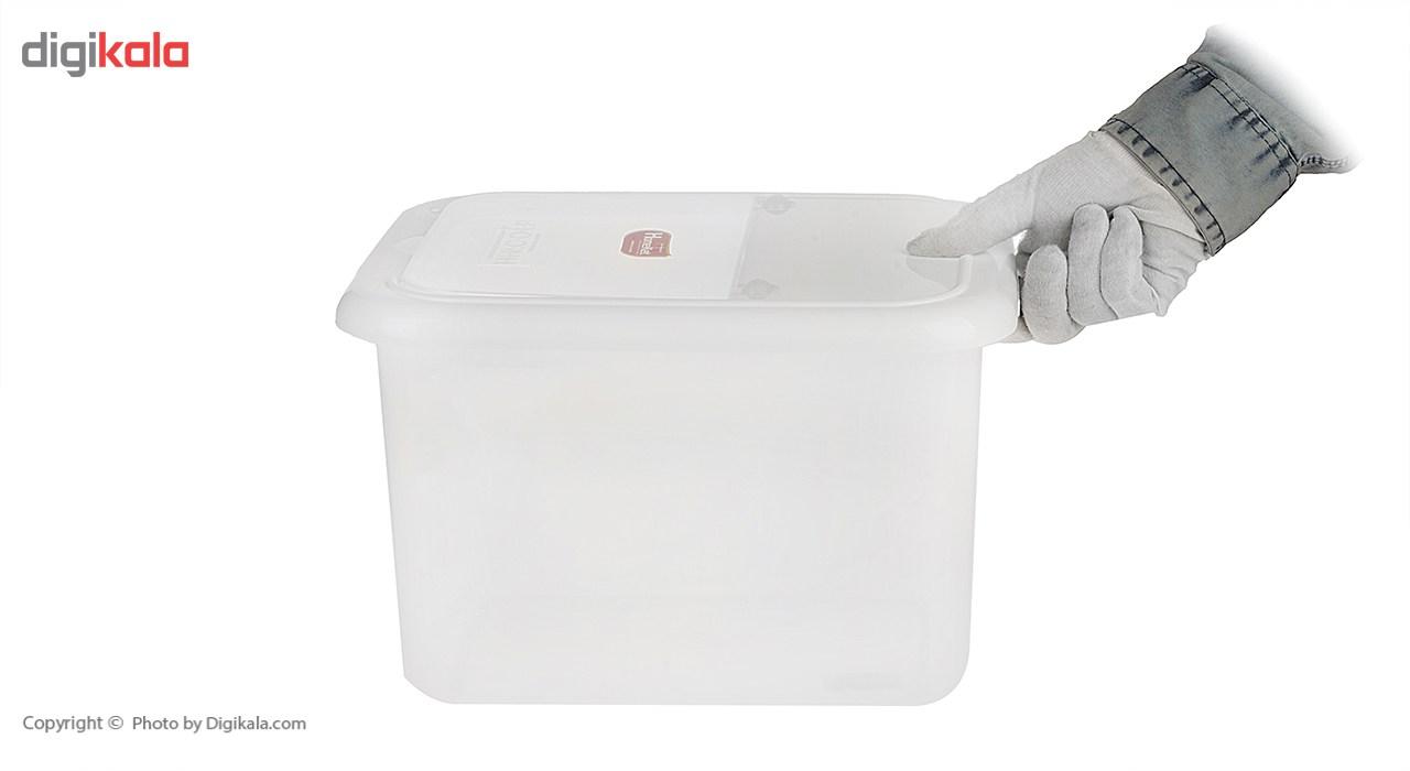 ظرف برنج هوم کت کد 0730 - ظرفیت 20 کیلوگرم main 1 5