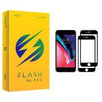 محافظ صفحه نمایش فلش مدل +HD مناسب برای گوشی موبایل اپل iPhone 7 بسته دو عددی