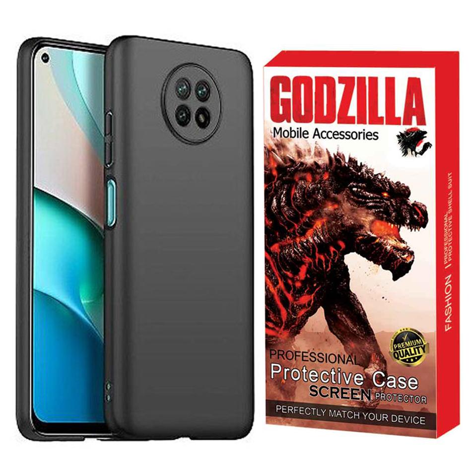 بررسی و {خرید با تخفیف} کاور گودزیلا مدل G-Sili-LE مناسب برای گوشی موبایل شیائومی Redmi Note 9T 5G اصل