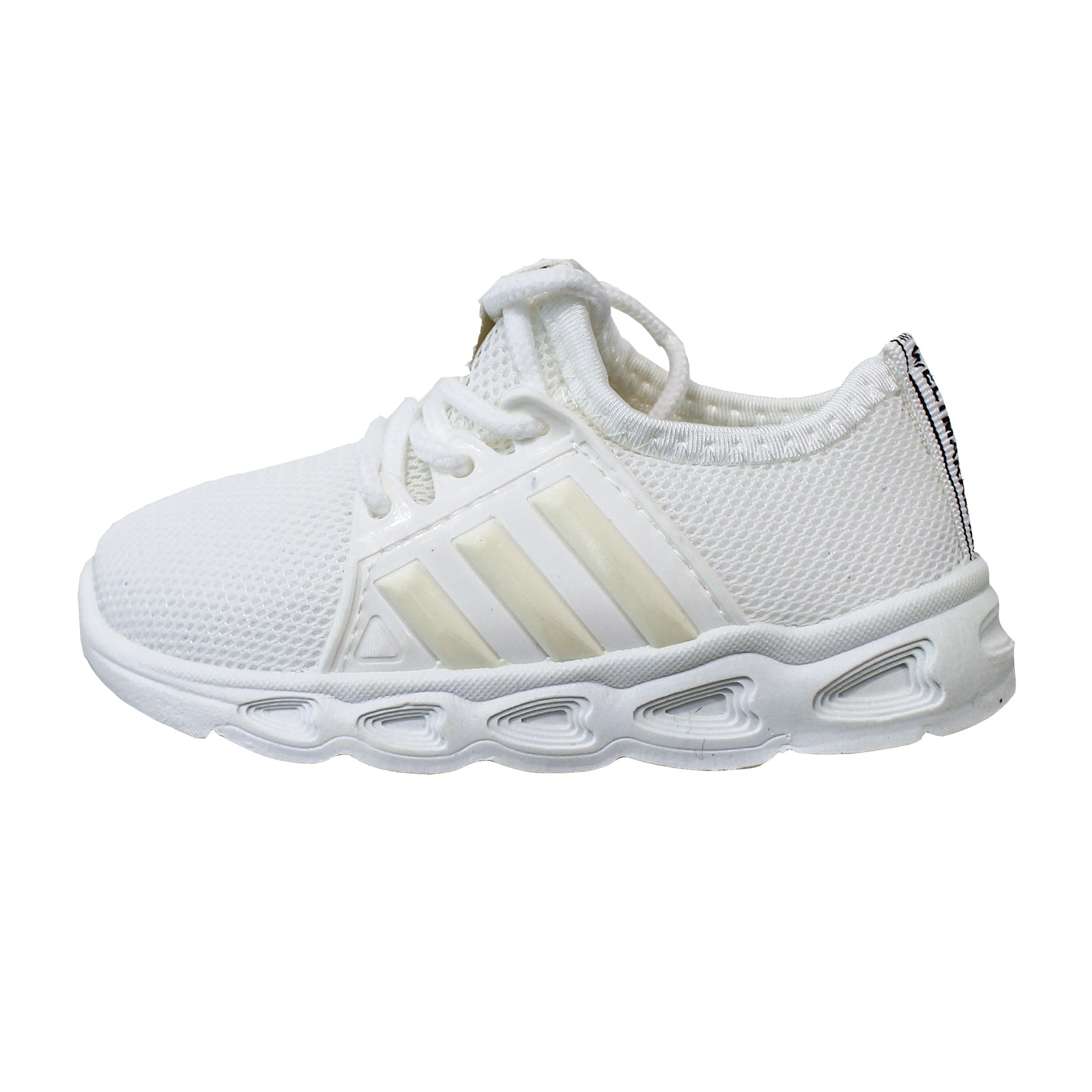 کفش مخصوص پیاده روی بچگانه مدل 105001 Needle Whi غیر اصل