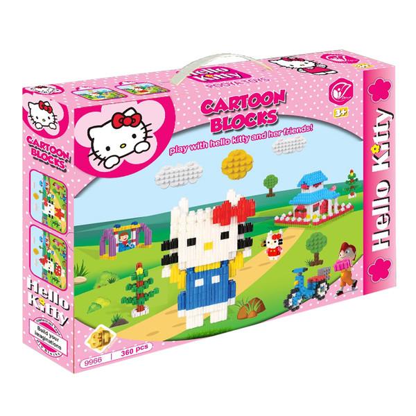 ساختنی پویا تویز مدل Hello Kitty کد 9966.2