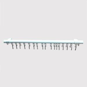 ریل پرده مدل ساده سایز 200 سانتی متر