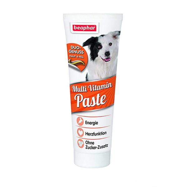 خمیر مولتی ویتامین سگ بیفار مدل DUO وزن 250 گرم