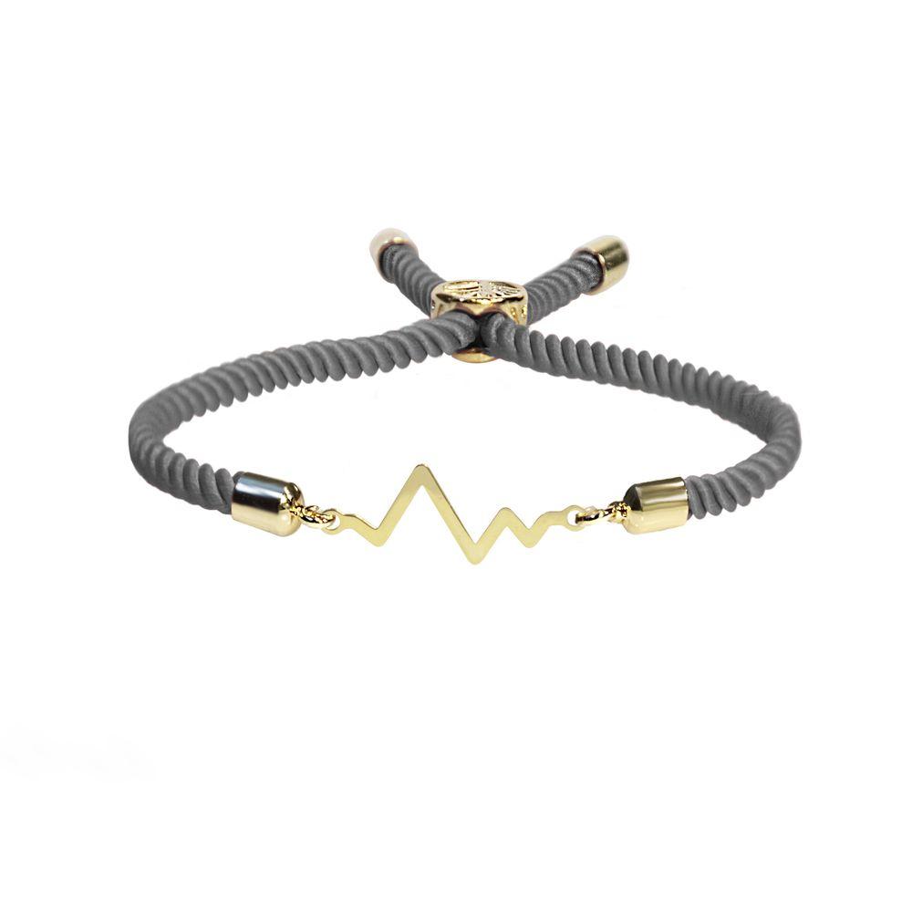 دستبند نقره زنانه آبستره مدل DZG-01