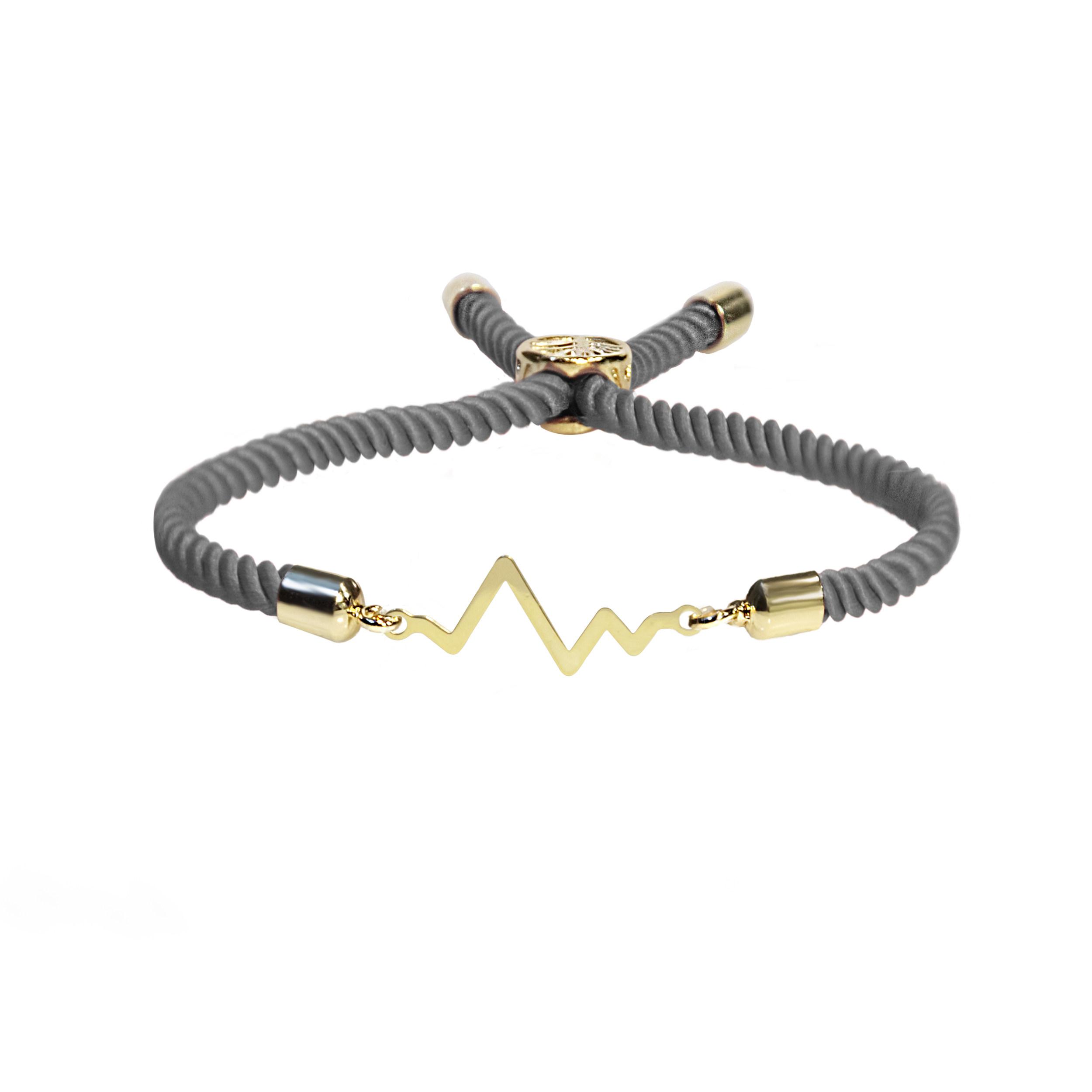 دستبند نقره زنانه آبستره مدل DZG-01 -  - 2