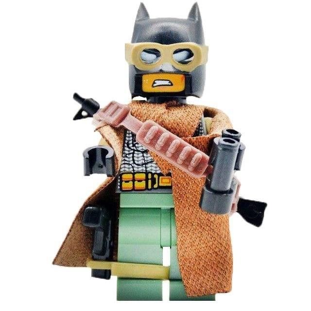ساختنی مدل Knightmare batman کد 10