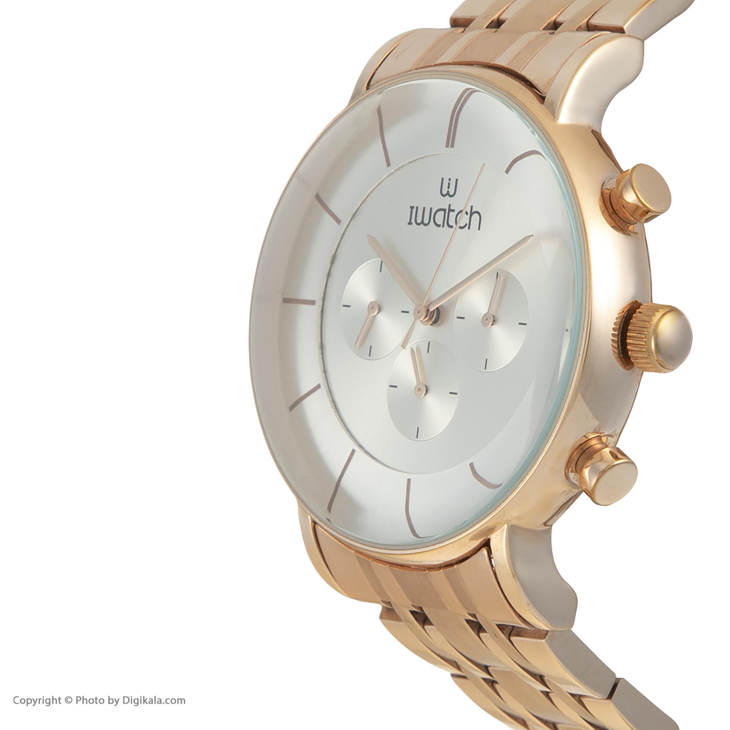 ساعت مچی عقربه ای آی واتچ مدل IW190010