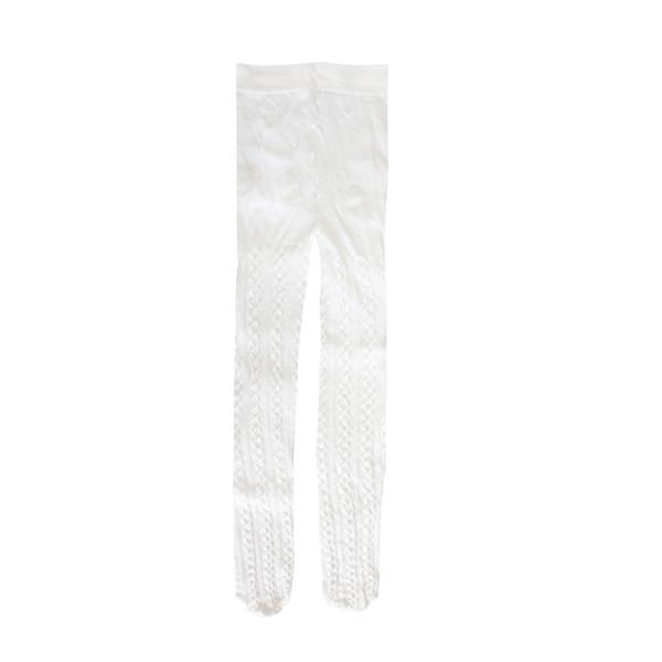 جوراب شلواری دخترانه کد 41 رنگ سفید