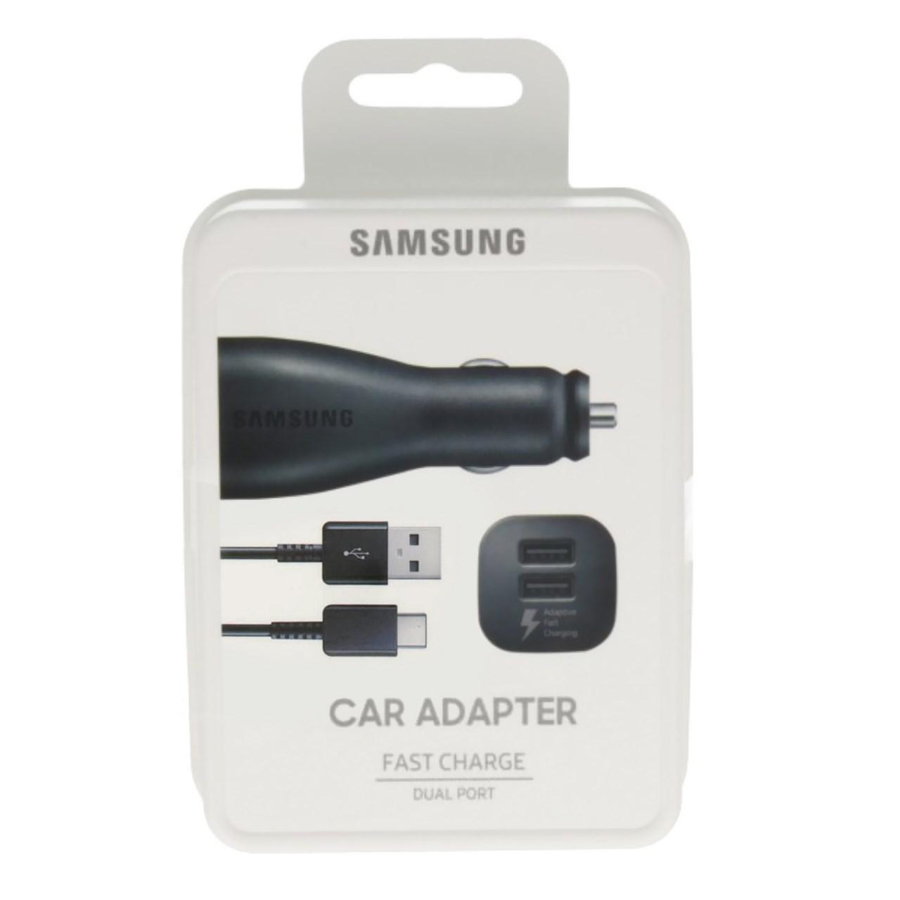 شارژر فندکی مدل EP-LN920BBEGWW همراه با کابل USB-C                     غیر اصل