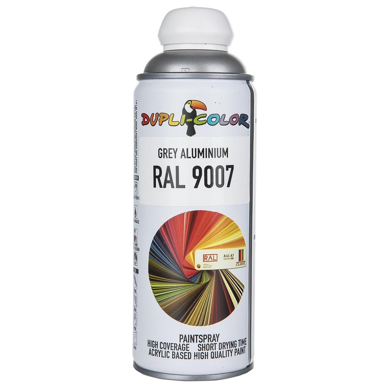 اسپری رنگ طوسی دوپلی کالر مدل RAL 9007 حجم 400 میلی لیتر
