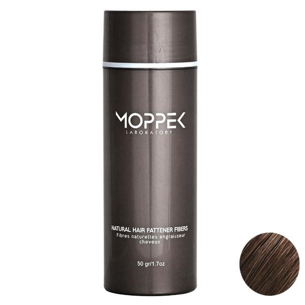پودر پرپشت کننده مو موپک مدل Medium Brown مقدار 50گرم