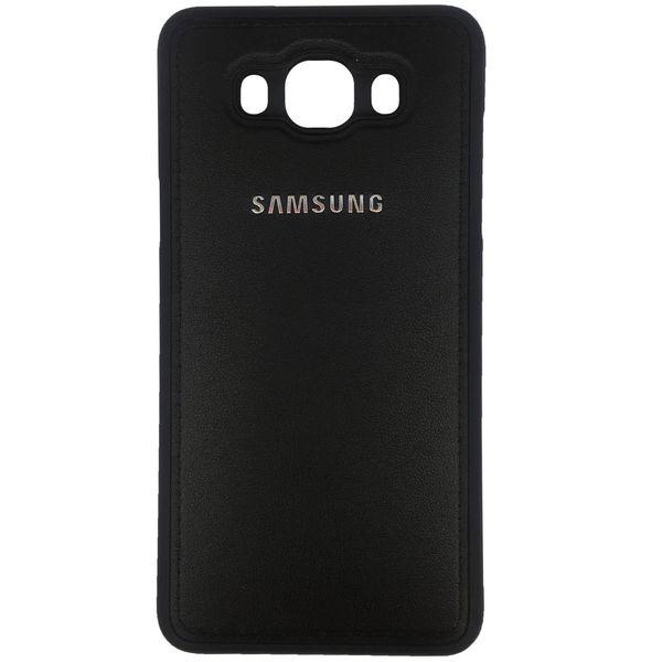 کاور ژله ای طرح چرم مدل مناسب برای گوشی موبایل سامسونگ Galaxy J5 2016/J510