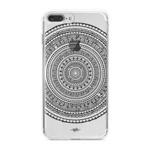 کاور  ژله ای مدلBlack mandala مناسب برای گوشی موبایل آیفون 7 پلاس و 8 پلاس