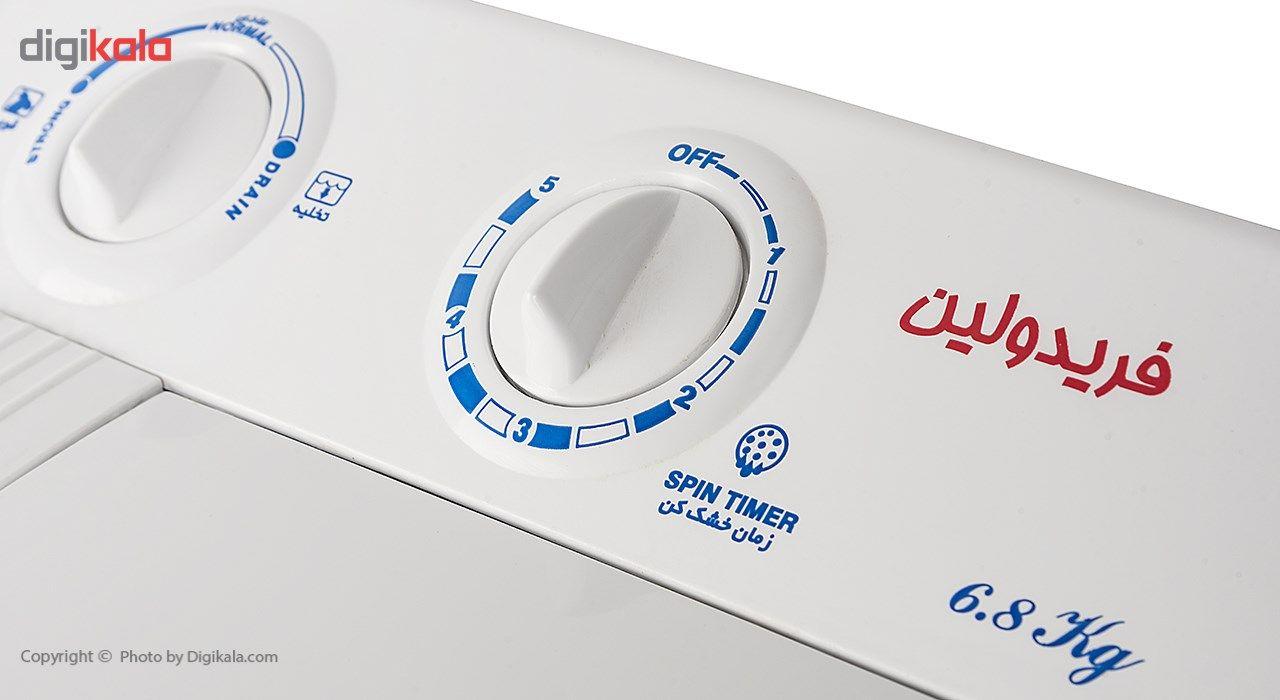 ماشین لباسشویی فریدولین مدل SWT68 ظرفیت 6.8 کیلوگرم main 1 4