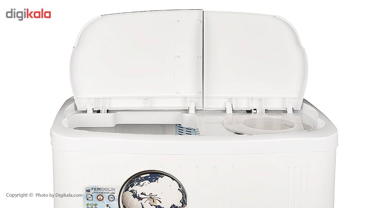 ماشین لباسشویی فریدولین مدل SWT68 ظرفیت 6.8 کیلوگرم main 1 5