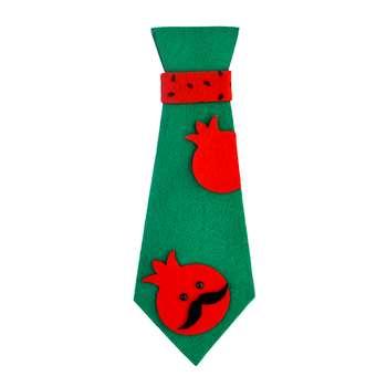 کراوات پسرانه مدل یلدا طرح انار