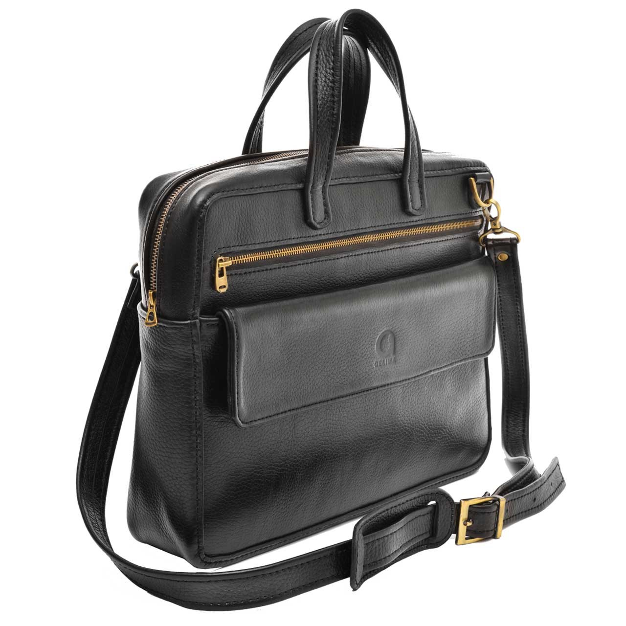 کیف اداری مردانه چرم طبیعی گلیما مدل 222