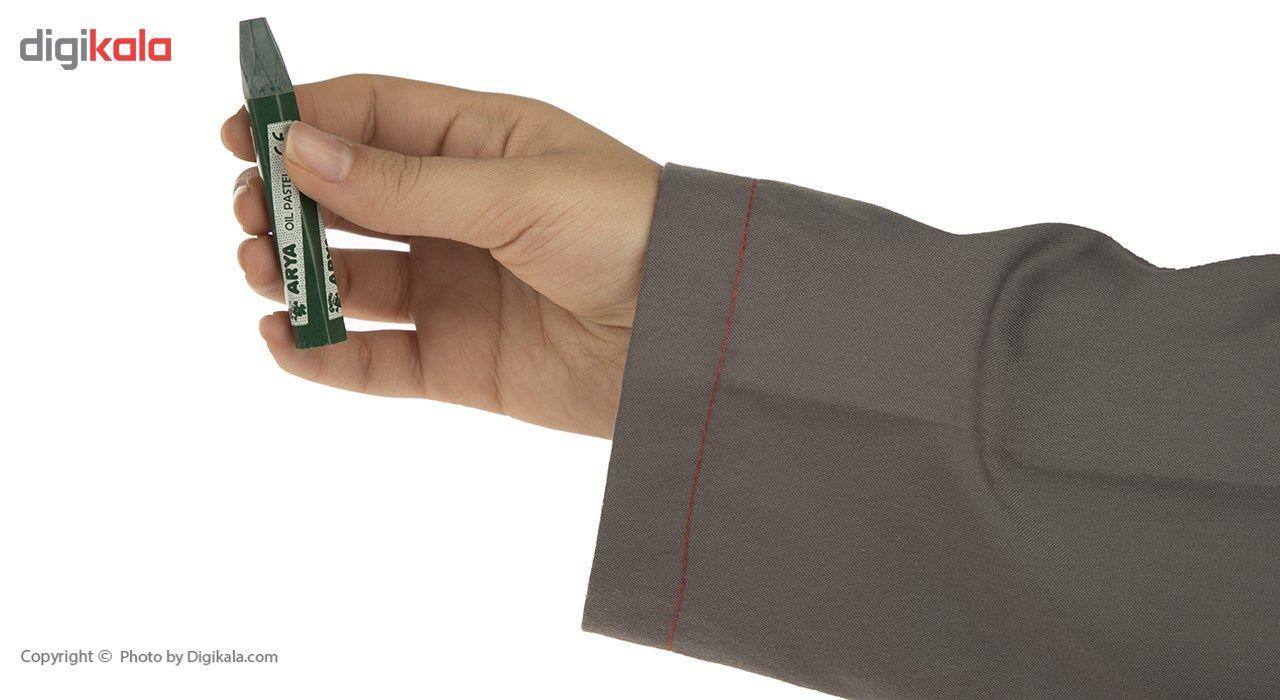 پاستل روغنی 1+6 رنگ آریا مدل 2024 main 1 5
