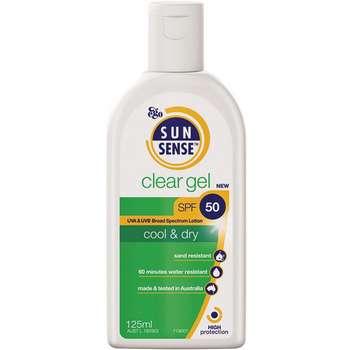 ژل ضد آفتاب سان سنس مدل Clear Gel SPF50 حجم 125 میلی لیتر