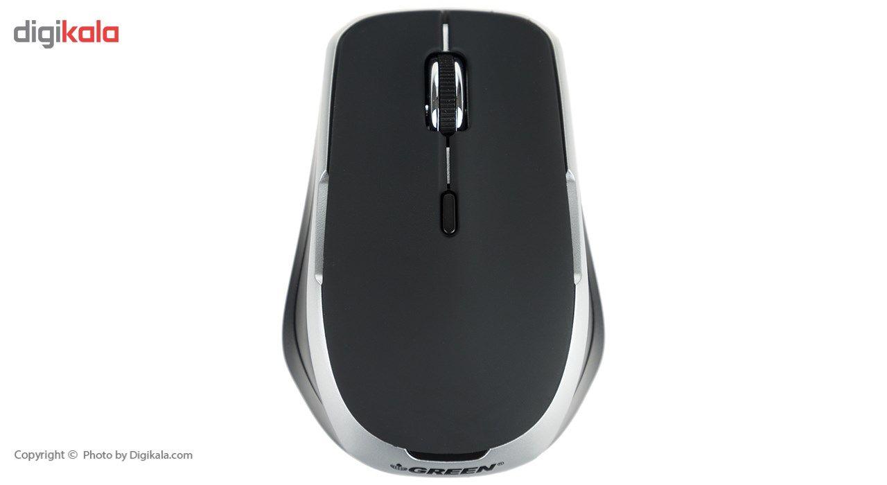 کیبورد و ماوس بی سیم گرین مدل GKM-505W با حروف فارسی main 1 6
