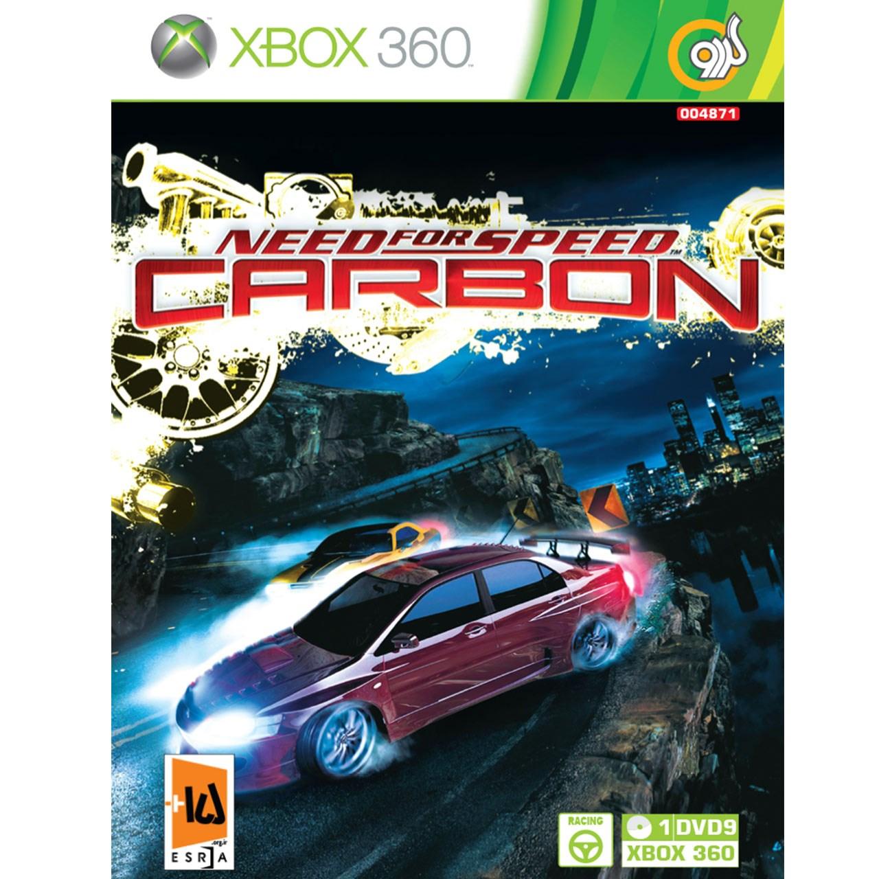 بررسی و {خرید با تخفیف} بازی Need For Speed Carbon مخصوص Xbox 360 اصل