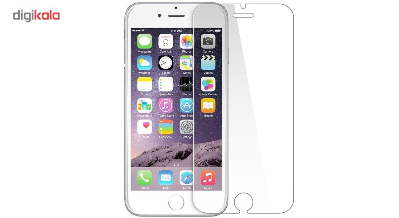 محافظ صفحه نمایش شیشه ای تمپرد مناسب برای گوشی آیفون 6 Plus main 1 2