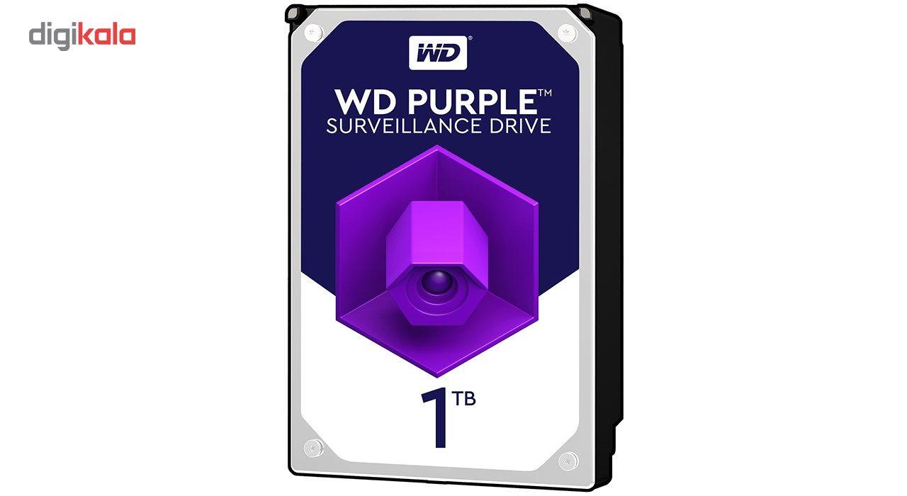 هارددیسک اینترنال وسترن دیجیتال مدل Purple WD10PURZ ظرفیت 1 ترابایت main 1 1