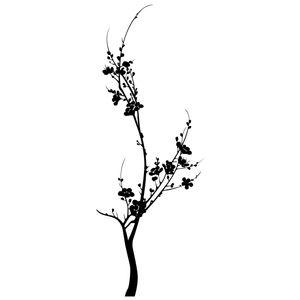 استیکر سالسو طرح تک شاخه
