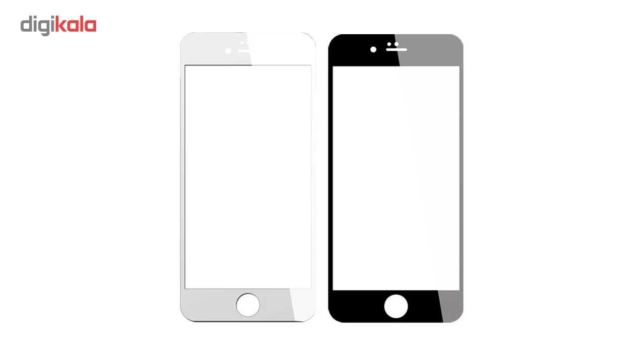 محافظ صفحه نمایش نانو گلس  مدل فول کاور 5D آنتی شوک مناسب برای گوشی آیفون 6/6S main 1 1