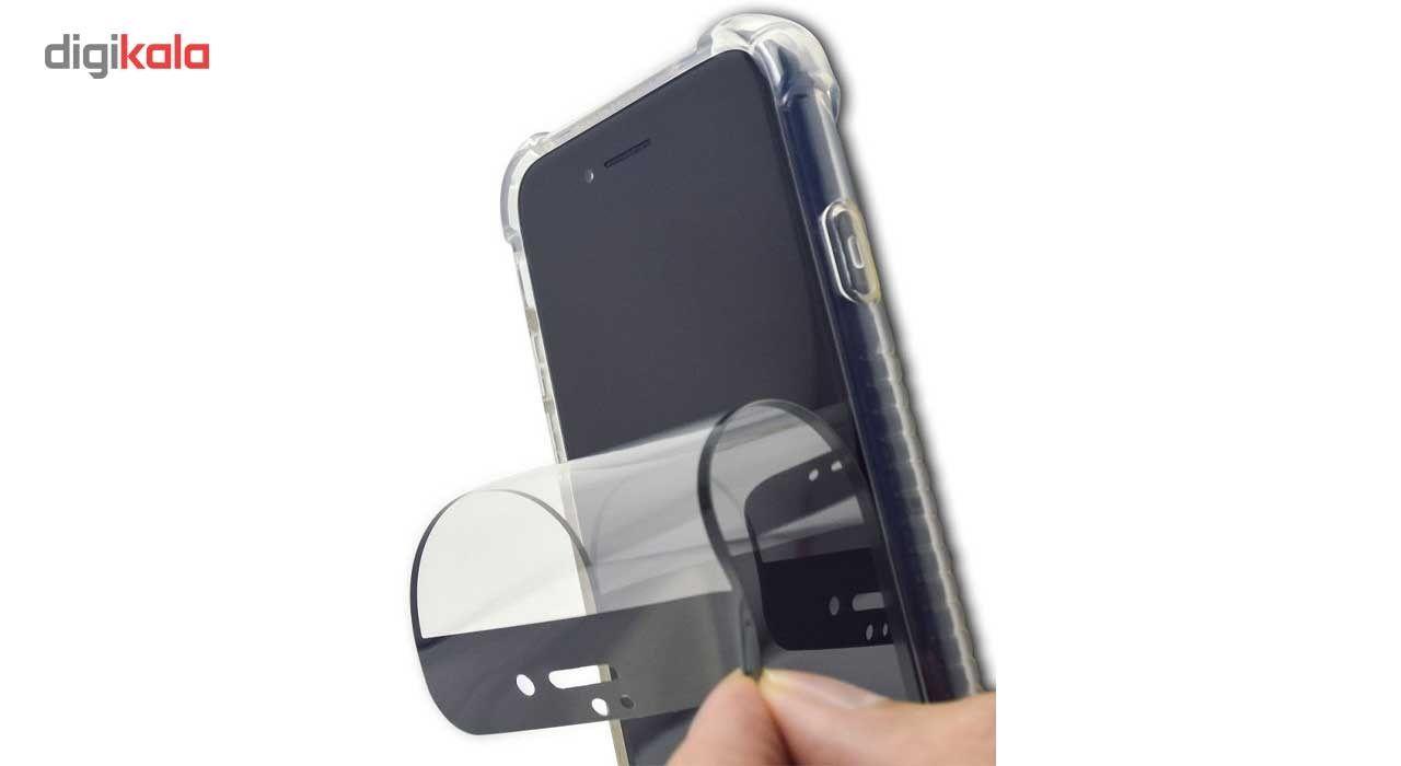 محافظ صفحه نمایش نانو گلس  مدل فول کاور 5D آنتی شوک مناسب برای گوشی آیفون 6/6S main 1 2