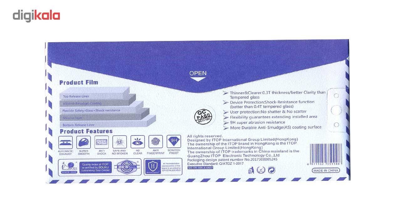محافظ صفحه نمایش نانو گلس  مدل فول کاور 5D آنتی شوک مناسب برای گوشی آیفون 6/6S main 1 4
