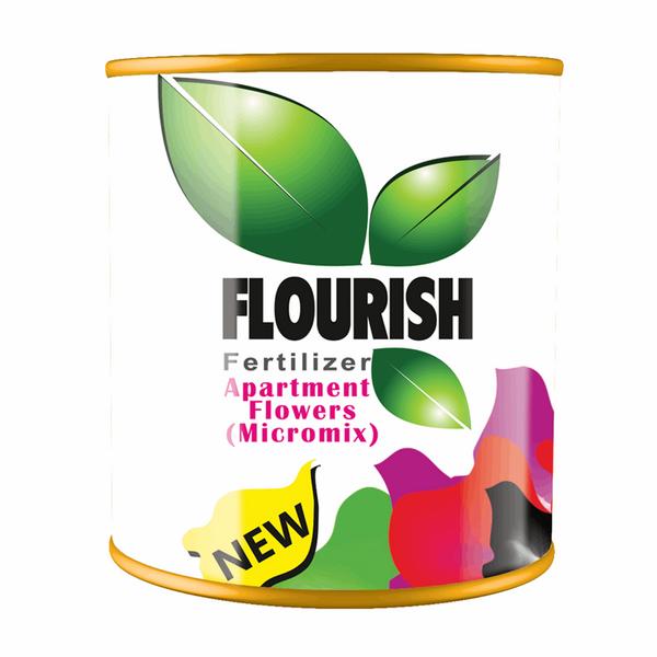 کود میکرومیکس جامد فلوریش مخصوص گلهای خانگی و گیاهان باغچهای 200 گرمی