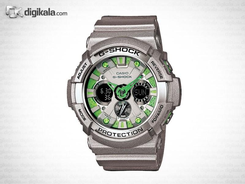 خرید ساعت مچی عقربه ای مردانه کاسیو جی شاک GA-200SH-8ADR