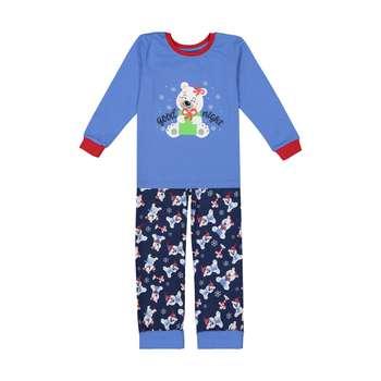 ست تی شرت و شلوار نوزادی پسرانه آدمک مدل 1521262-52