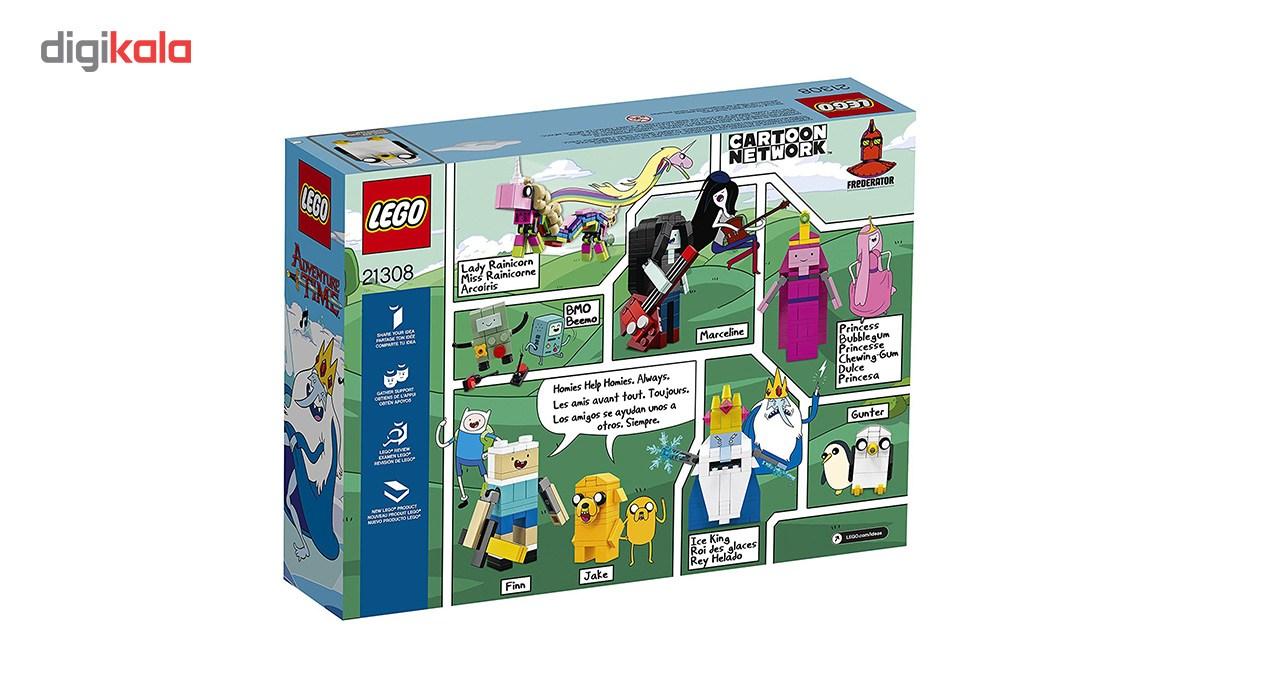 لگو سری Ideas مدل Adventure Time 21308