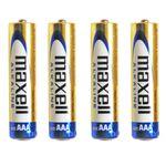 باتری نیم قلمی مکسل مدل Alkaline   بسته 4 عددی thumb