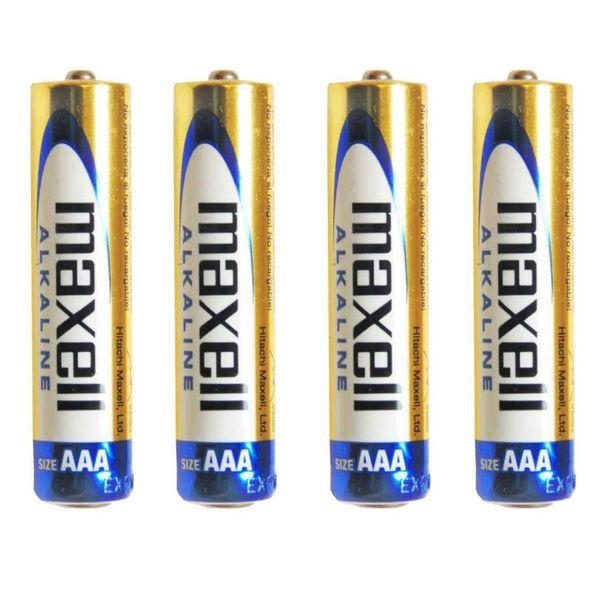 باتری نیم قلمی مکسل مدل Alkaline   بسته 4 عددی