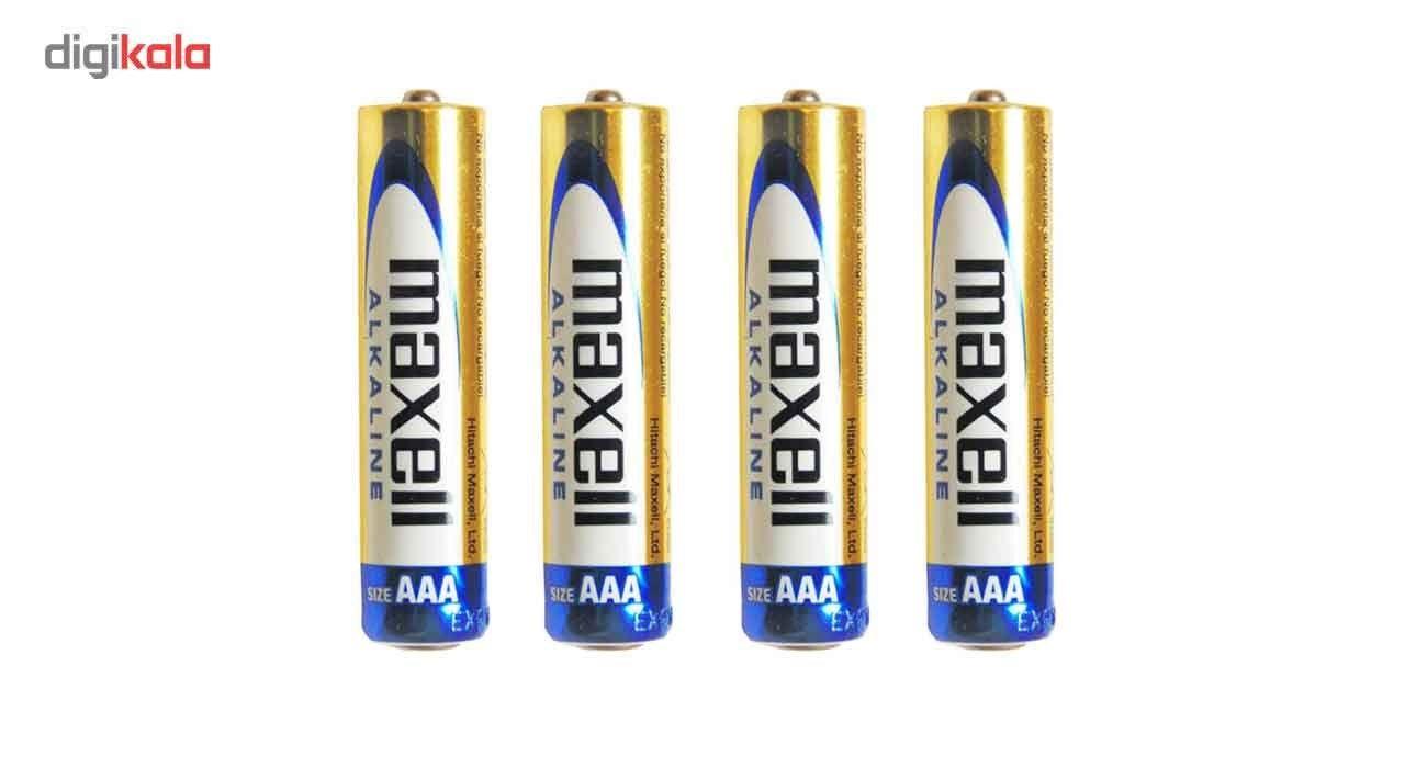 باتری نیم قلمی مکسل مدل Alkaline   بسته 4 عددی main 1 1